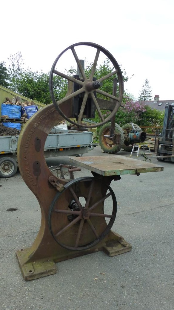 Collecting vintage j sagar woodworking machinery for 12 inch table saws for sale