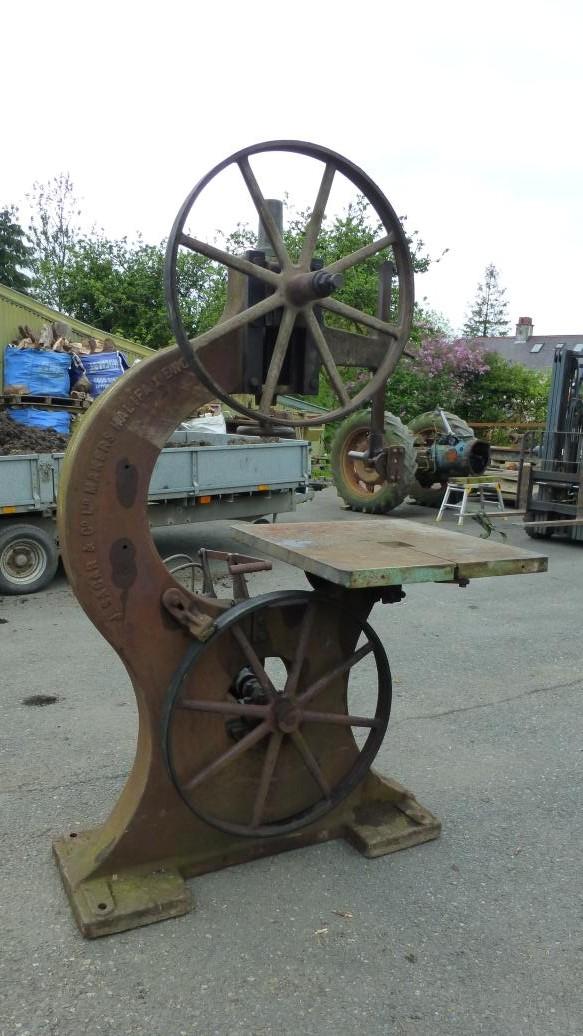 Collecting Vintage J. Sagar Woodworking Machinery